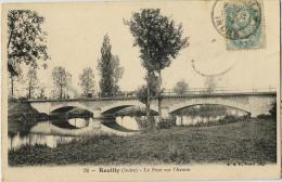 36 REUILLY PONT SUR ARNON - Francia