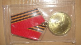 1996 Ukraine Award Medal Der Orden Die Medaille Marshall Marshal Zukov 1896-1996 - Rusia