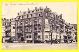 * De Panne - La Panne (Kust - Littoral) * (Héliotypie De Graeve - Star, Nr 1623) Digue Et Hotel Teirlinck, Oldtimer, Top - De Panne