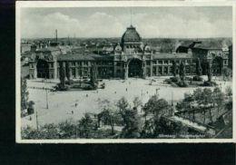 Nürnberg Hauptbahnhof Bahnhof Sw Um 1930 Kleinformat - Nuernberg