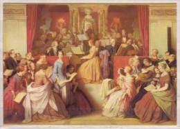 Moritz Von Schwind , Eine Symphonie , Ausschnitt , 1852 , Leinwand Oben Halbkreisbogen , München Neue Pinakothek - Malerei & Gemälde