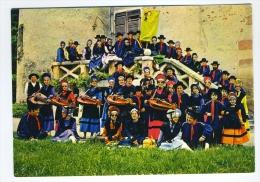 CP ST VICTOR 03  ALLIER GROUPE FOLKLORIQUE AMICALE LAIQUE LES GATS DO BOURBONNAIS - France