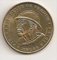 A319 / 2004 - 55100 VERDUN - La Citadelle / Le Poilu / 1914 Meuse 1918