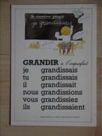 MONIQUE TOUVAY  GRANDIR A L IMPARFAIT - Illustrators & Photographers