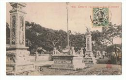 INDOCHINE - ANNAM - QUINHONE - RUE DU MARCHE - Cartes Postales