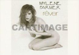 Mylène FARMER  Carte Postale N° MF 6 - Artistas