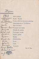 Menu 1947  Thonon Les Bains - Menus