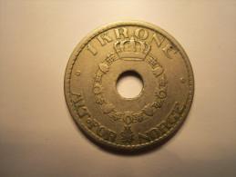 NORVEGE : 1 KRONE 1925 - Norvège
