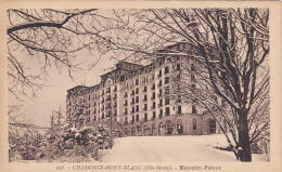 CHAMONIX-MONT-BLANC , France , 1910s ; Majestic Palace - Chamonix-Mont-Blanc