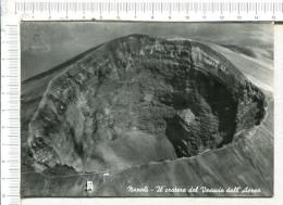 NAPOLI  -  VESUVIO  -  Il Cratere Dall  Aereo - Napoli (Naples)