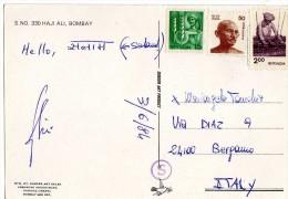 GANDHI-INDIA-FRANCOBOLLI - Mahatma Gandhi