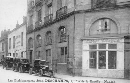 ¤¤  -   NANTES   -  Matériel Chirurgical  -  Les Etablissements Jean Deschamps , 2 Rue De La Bastille    -  ¤¤ - Nantes