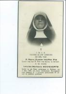 ZUSTER MARIA P L B BOOGAERTS OVERLEDEN BERLAAR 1956 47 JAAR KLOOSTERDIENST - Imágenes Religiosas