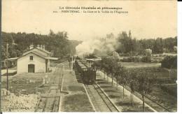 CPA   FRONTENAC, La Gare Et La Vallée De L'Engranne  9790 - Other Municipalities