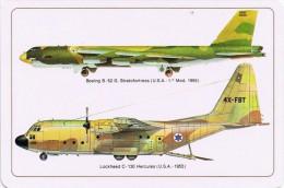 Military Aircrafts Collection Calendar Pocket - Year 2014 - Calendarios
