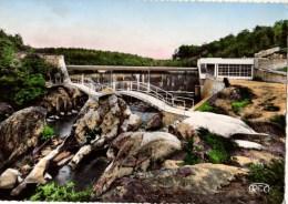 87---SAINT-JUNIEN  Le Barrage Du Gué Giraud--voir 2 Scans - Saint Junien