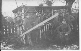 Bayerisch Ersatz Rgt. Komp.2 Bayer K2 Revierkrauken Zimmer Infirmerie 1carte Photo 1914-1918 14-18 Ww1 WwI Wk Poilus - War, Military