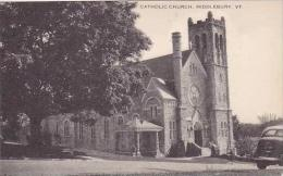 Vermont Middlebury Catholic Church Artvue - United States