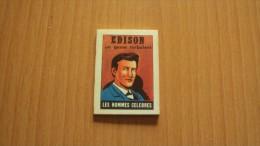 """MICRO LIVRE B.D. """" EDISON"""" OFFERT PAR LES CAFES """"MARTIN-CAIFFA-MOKALUX"""" - Old Paper"""