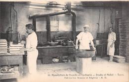 """-10 - TOURS  - Manufacture De Biscuits Et Confiserie """"FRADIN Et MALLET"""" - Fabrication De Gomme Et Réglisse - Tours"""