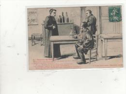 """Cpa SOURIRE DU MORVAN """" L'Absinthe """"  1910 - Humour"""