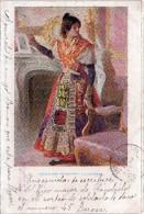 Cpa 1904, Chromo D´une Belle Femme : Creaciones Femeninas : La Charra   (33.84) - Espagne