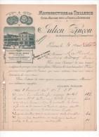 Lettre - Facture - Manufacture De Sellerie - Julien PINCON - PARIS  - 1925 - France