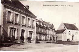 MAUVES  Sur HUISNE Place De La Mairie - France
