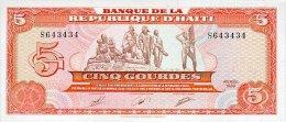 Haiti 5 Gourde 1989 Pick 255 UNC - Haïti
