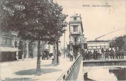 88 - Epinal - Rue De La Faïencerie (tramway) - Epinal