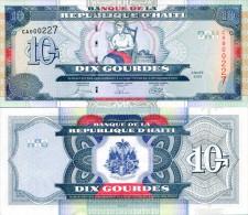 Haiti 10 Gourde 2004 Pick 265 UNC - Haiti
