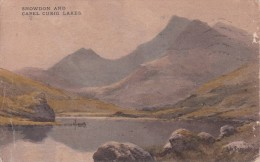 PC Snowden And Capel Curig Lakes - 1923 (3522) - Wales