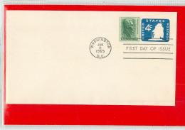 USA  -  Embossed Stamped Envelope - Stationery - Busta Intero Postale - 1961-80