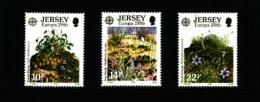 JERSEY - 1986  EUROPA  SET  MINT NH - Jersey