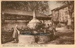 BEAUMES-de-VENISE - Fontaine Romaine - 1945 - - Beaumes De Venise