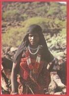 CARTOLINA NV DJIBOUTI - GIBUTI - Femme Djiboutienne - 10 X 15 - Gibuti