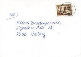 GROENLAND. N°111 De 1980 Sur Enveloppe Ayant Circulé. Bibliothèque. - Culturen