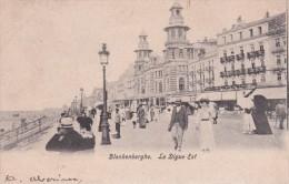 CPA Blankenberghe - La Digue Est - 1906 (3536) - Blankenberge