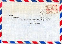 GROENLAND. N°82 De 1975 Sur Enveloppe Ayant Circulé. Radio. - Telecom