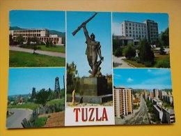 TUZLA- MONUMENT,SPOMENIK,denkmal,monumento, - Bosnie-Herzegovine