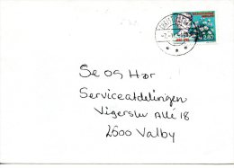 GROENLAND. N°147 De 1985 Sur Enveloppe Ayant Circulé. Reine Ingrid. - Koniklijke Families