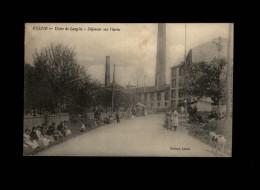 45 - CHALETTE-SUR-LOING - Vésine - Usine De Langlée - Déjeuner Des Ouvriers - - France