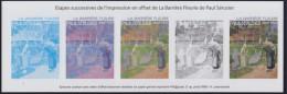 """= Paul Sérusier étapes Successives Impression Offset De """"La Barrière Fleurie"""" N°4105 Bloc Gommé Neuf - Blocs & Feuillets"""