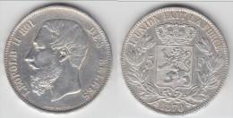 **** BELGIQUE - BELGIUM - BELGIE - 5 FRANCS 1870 LEOPOLD II - ARGENT - SILVER **** EN ACHAT IMMEDIAT - 09. 5 Francs