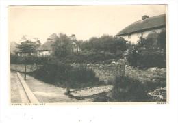 CPA : Barry : Old Village - Barry - Vieux Village - Maisons - Jardins - Cottages  & Gardens - Glamorgan