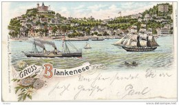 Lithography Litho Germany - Blankenese