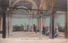 CPA Tunis - La Kouba Du Belvédère - Poste Militaire - Regt De Zouaves - 1914 (3555) - Tunesien