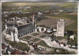 LE GRAND PRESSIGNY 37 - Vue Aérienne : Ancien Chateau Musée Donjon Tour Vivonne - Jolie CPSM GF 1974 - Indre Et Loire - Le Grand-Pressigny