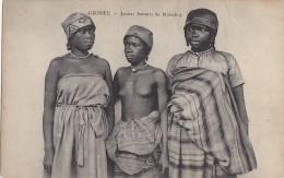 Afrique -  Guinée -  Jeunes Femmes De Konakry - Nu - Guinée