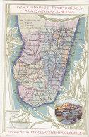 Afrique - Madagascar - Ile Carte Géographie - Madagascar